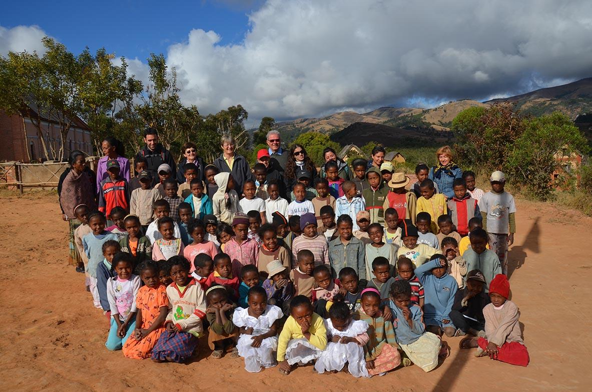 Madagascar, visita alle scuole