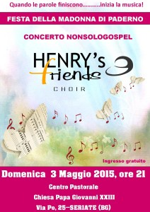 Henry's friens Choir