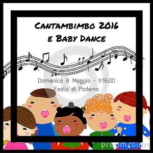 Festa di Paderno: CANTABIMBO 2016 & Baby Dance @ Centro Pastorale Giovanni XXIII c/o Teatro Tenda | Seriate | Lombardia | Italia
