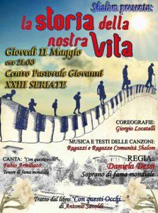 Festa di Paderno - LA STORIA DELLA NOSTRA VITA (Spettacolo Musicale) @ Centro Pastorale Giovanni XXIII | Seriate | Lombardia | Italia