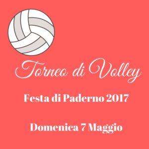 Festa di Paderno - TORNEO DI VOLLEY @ Centro Pastorale Giovanni XXIII | Seriate | Lombardia | Italia