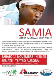 SAMIA - storia musicale di un atleta @ TEATRO AURORA | Seriate | Lombardia | Italia