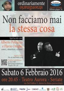 Non facciamo mai la stessa cosa @ Teatro Aurora | Seriate | Lombardia | Italia