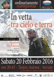 In vetta tra cielo e terra @ Teatro Aurora | Seriate | Lombardia | Italia