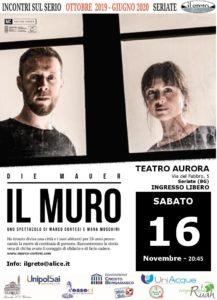 Il Muro @ Teatro Aurora